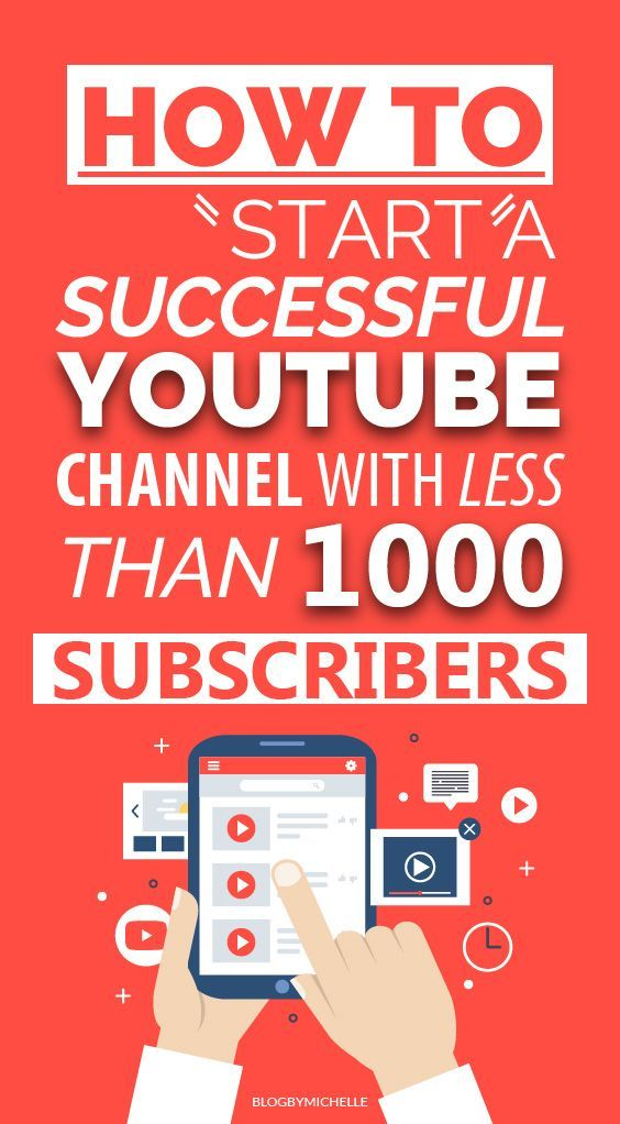 How To Start A Successful Youtube Channel With Less Than 1000