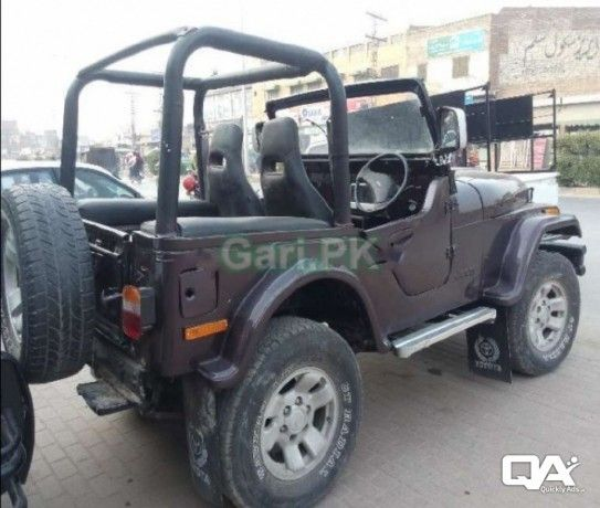 Jeep Cj 5 2 5 1980 For Sale In Faisalabad Faisalabad Buy Sell