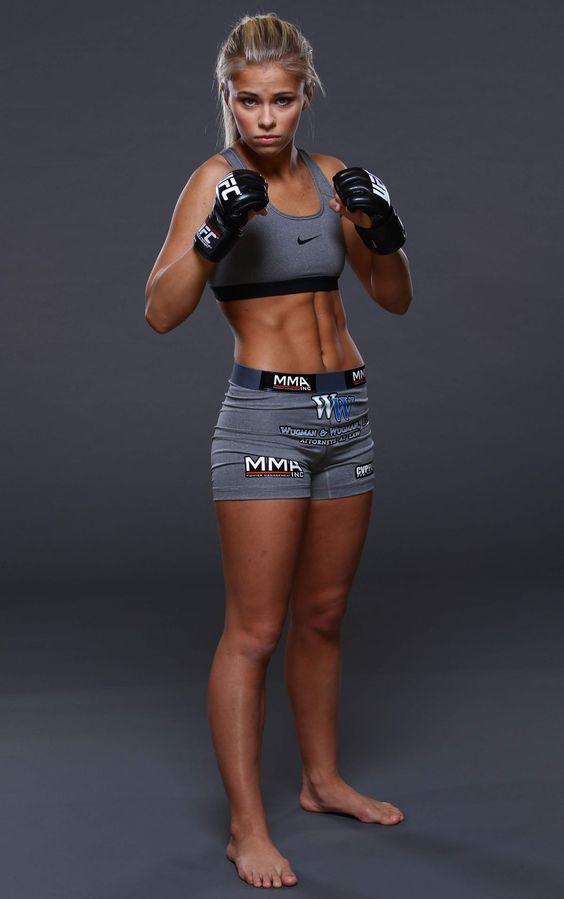 <b>PAIGE VANZANT</b> - UFC Fighter Portraits 2014 - HawtCelebs - HawtCelebs