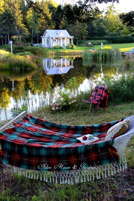 Aiken House & Gardens: Autumn Days in a Hammock