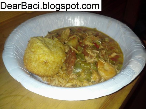 Dear Baci: Kielbasa, Shrimp, and Chicken Gumbo