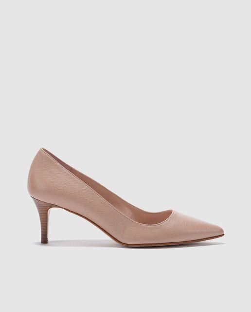 Zapatos de salón de mujer Zendra Basic de piel en color