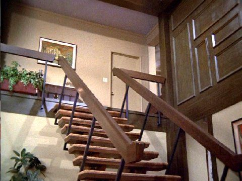 Sometimes the Bradys were cool - The Brady Bunch Staircase: