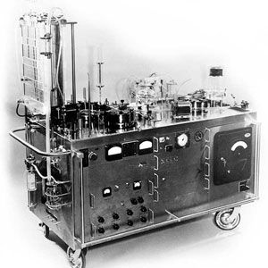 and lung machine