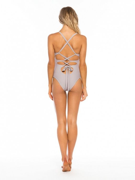 Tie Back One Piece Swimsuit from Tori Praver's swimsuit collaboration with Target