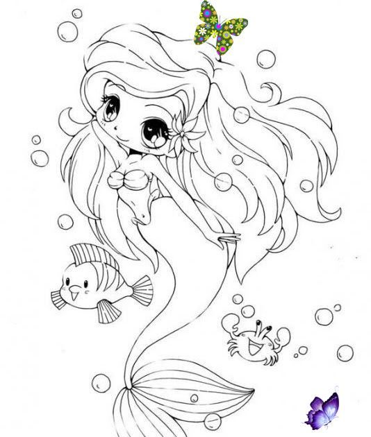 Pin By Wongru On Dolly Creppy Mermaid Coloring Pages Chibi Coloring Pages Chibi Mermaid Col Chibi Coloring Pages Mermaid Coloring Pages Mermaid Coloring Book