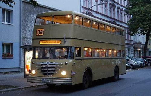 Bussing D2u Traditionsbus Berlin 2015 Berlin Double Decker Bus