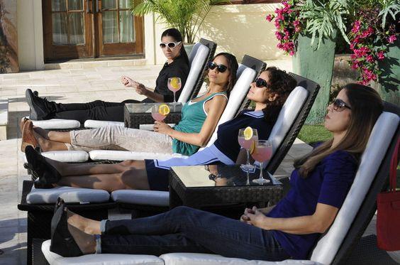 Roselyn Sanchez, Dania Ramirez, Judy Reyes, Ana Ortiz dans Devious Maids