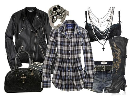 """""""Heaven & Hell"""" by beyondthewallofsleep ❤ liked on Polyvore featuring Debenhams, Alexander McQueen, Abercrombie & Fitch, INDIE HAIR, Wet Seal, Chrome Hearts, Aerie, Thomas Wylde and i'll show you trendy"""