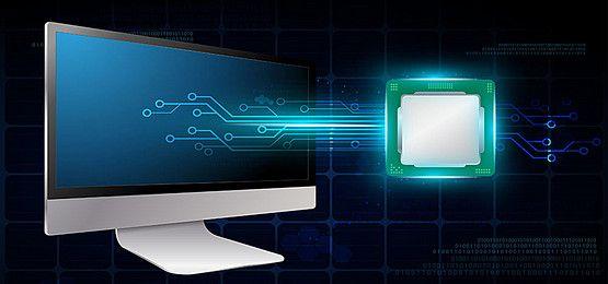 คอมพ วเตอร ภาพพ นหล ง พาหะพ นหล งและไฟล Psd สำหร บดาวน โหลดฟร Pngtree Technology Background Computer Technology Computer