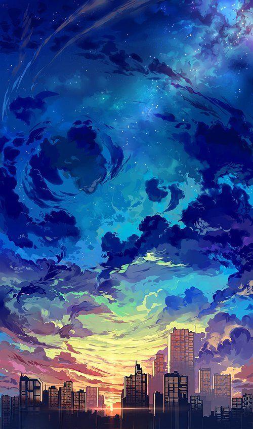 Iphone X Wallpaper Notitle 365847169724940850 Anime Scenery Animation Art Scenery