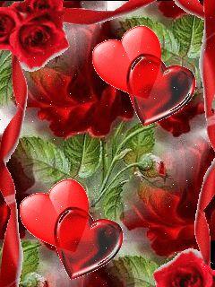 E o coração apaixonado brilha muito!