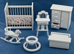 Baby Nursery Furniture 6 pc set