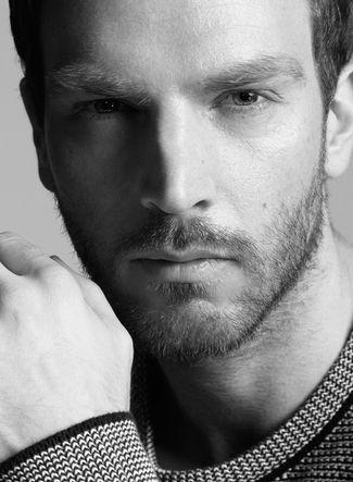Rasmus Michelsen - eyebrows and facial hair.