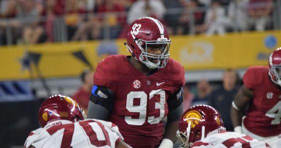 TUSCALOOSA, Ala. -- Alabama defensive lineman Jonathan Allen and right tackle…