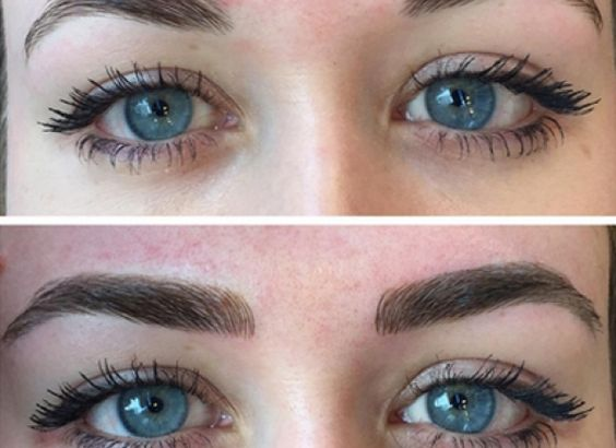 Eyebrows style and microblading eyebrows on pinterest for Eyebrow tattoo microblading
