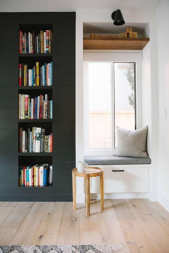 Samantha Gluck Emily Henderson Built In Reading Window1