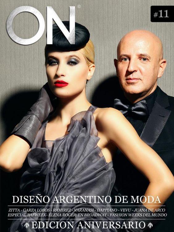 Diseño Argentino! Zitta en la tapa de ON Mag www.on-mag.net/