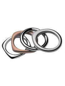 Breil Breil TJ092 Tetra Rosé Damenring-Set | uhrcenter