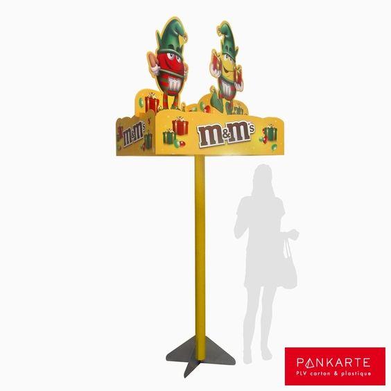 Pankarte PLV : Carrousel sur mât