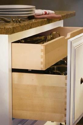 Replacement Kitchen Cabinet Drawer Boxes Drawer Boxes   Pullouts vs. Rollouts   Kitchen cabistorage
