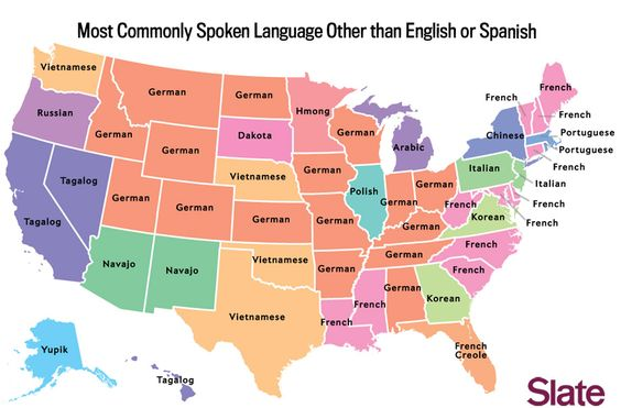 The Most Common Language In Each US State—Besides English And Spanish