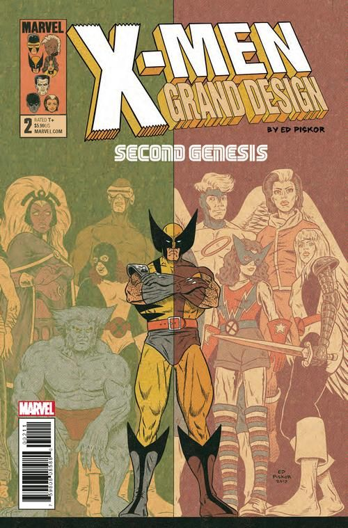 X Men Grand Design Second Genesis 2 Of 2 In 2020 Grand Designs X Men Marvel
