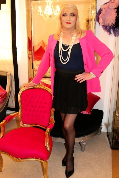 Crossdresser Makeover Pink Galleries And The O Jays