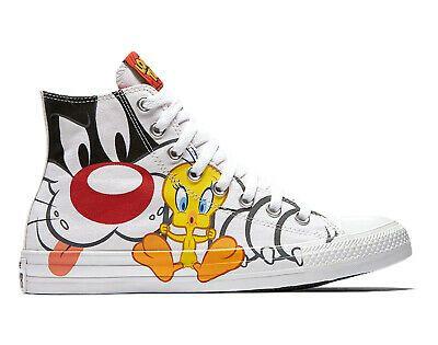 Converse Chuck Taylor All Star Hi Looney Tunes Sylvester Tweety ...
