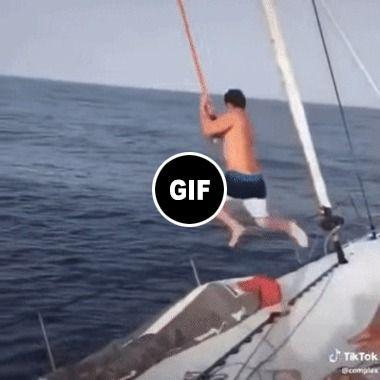 esse cara repetiu o famoso voo com corda…