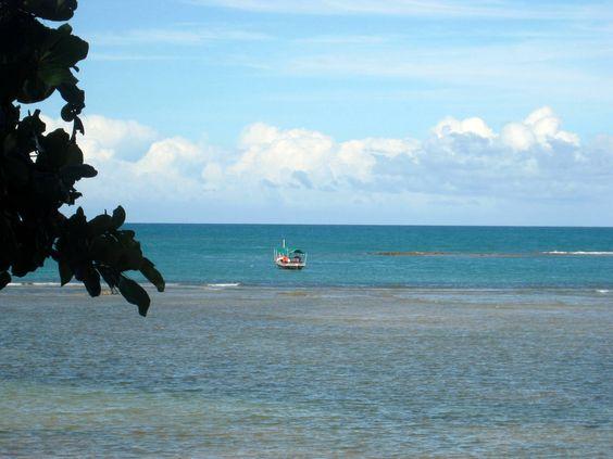 A Praia do Espelho faz parte do roteiro da Costa do Descobrimento.