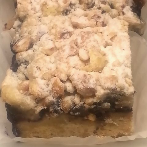 ... Desserts Redefined   Zov's Bistro & Bakery: Blueberry Hazelnut Bars