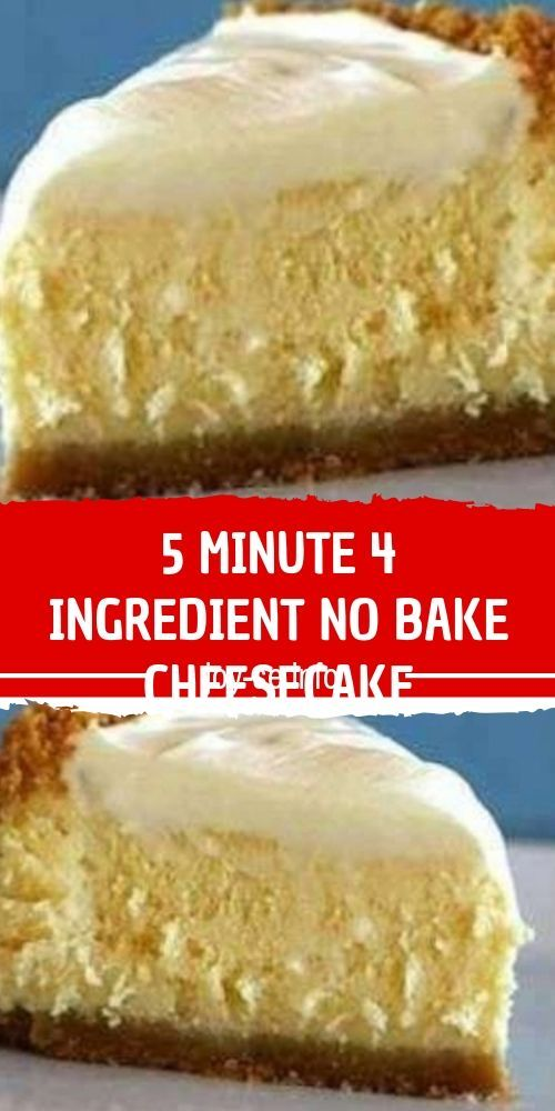 5 Minute 4 Ingredient No Bake Cheesecake My Grandmother Passed This Recipe Dow Easy Cheesecake Recipes Milk Recipes Dessert Sweetened Condensed Milk Recipes