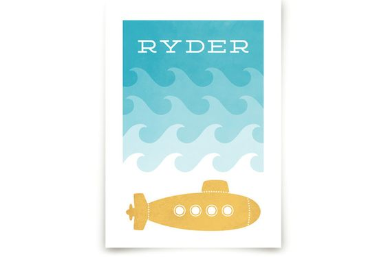Submarine Art Prints by Hooray Creative at minted.com