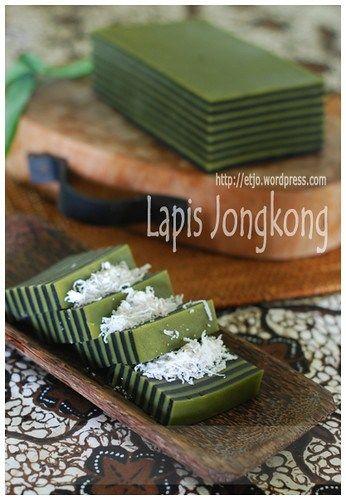 Lapis Jongkong Indonesian Desserts Thai Dessert Malaysian Dessert
