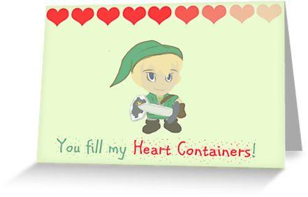 funny zelda valentines