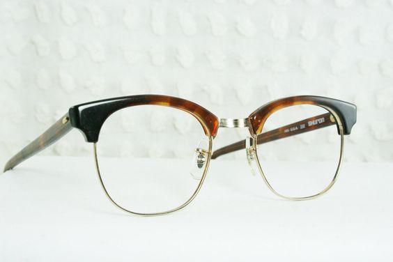 american classic eye frames 60s mens glasses 1960s