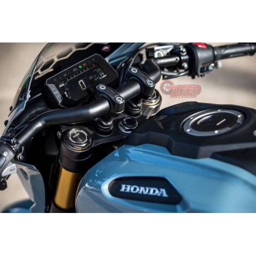 Honda Cb150r Motozaaa Racing Handlebars Honda Cafe Racer Motorcycle Racing