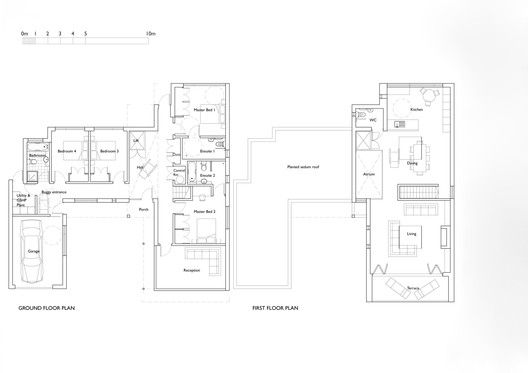 Zinc House Ob Architecture Architecture Floor Plans House Zinc house floor plan