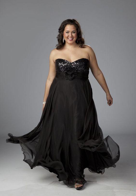 Plus size evening gown dresses - http://www.cstylejeans.com/plus ...