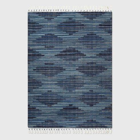 5 X 7 Diamond Tassel Outdoor Rug Blue Opalhouse In 2021 Outdoor Rugs Outdoor Rugs Patio Stylish Patio Outdoor rugs 5 x 7