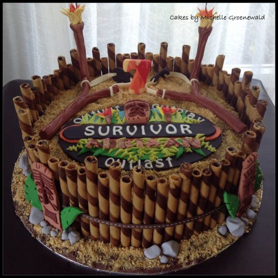 Surviving cake Kids cakes by Michelle Groenewald ...