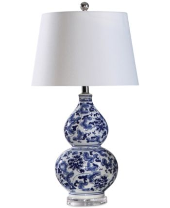 Abbyson Living Stanbury Blue Table Lamp Reviews All Lighting Home Decor Macy S Blue Table Lamp Abbyson Living Table Lamp