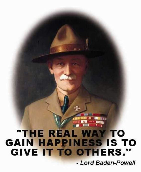 Boy Scout Essay With Quotes: Baden Powell [As I Was A Former Boy Scout; I Was