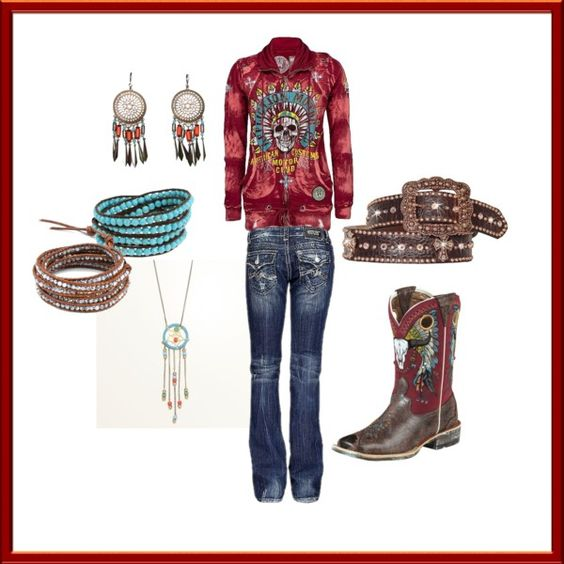 """Indian Outlaw"" by ashleyelliott-1 on Polyvore"