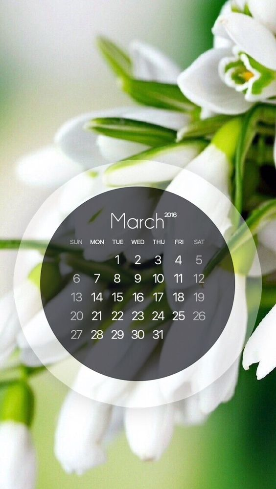 calendars background