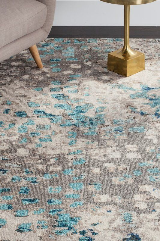 Indira Gray Light Blue Area Rug Reviews Allmodern Light Blue Area Rug Light Blue Rug Area Rugs
