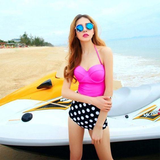 Bikini im Retro-Stil - 72 % sparen auf lesara.de