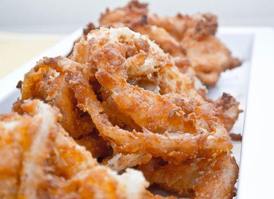 Double Crispy Onion Rings! So delicious!