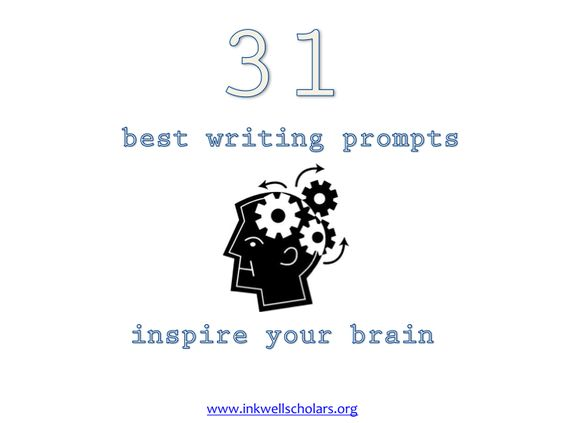 Grab your free e-book 31 Best Writing Prompts at http://inkwellscholars.org